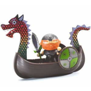 Drack the Drakkar arty toys pirate djeco