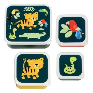 boîtes à goûter tigre