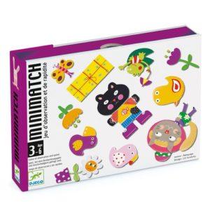 minimatch jeu carte djeco